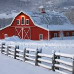 """Winter Barn"" by dkocherhans"
