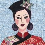"""Japanese Girl Series - Chieko Li"" by RemnantWorks"
