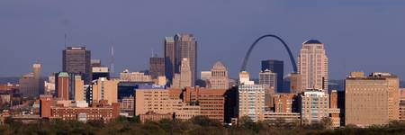 St. Louis Skyline (Panoramic)
