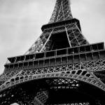 """Eiffel Tower BW"" by urbansafari"