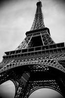 Eiffel Tower BW