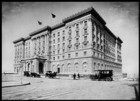 Fairmont Hotel, Mason and California St., Nob Hill by WorldWide Archive