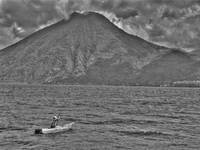 Lake Atitlan Paddler