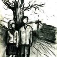 Sous l'arbre... Art Prints & Posters by Kostyantin Gonchar