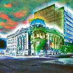"""corner Greene Ave. and deMaisonneuve, Montreal"" by artman8764"