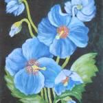 """Blue Poppy"" by zdravkaboncicfourtounis"