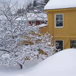 """Stowe Coffee House in Winter"" by chrisromano"