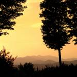 """Hazy Sunset on Sterling Mountain"" by chrisromano"