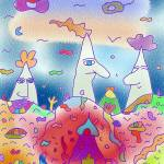"""""3 mountains"" - Children Colorful Fantasy Stories"" by Arran"