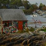 """Lobster Shack on Deer Isle, Maine"" by leicafan"