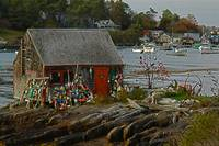 Lobster Shack on Deer Isle, Maine