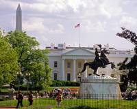 White House, Washington Memorial, General Jackson