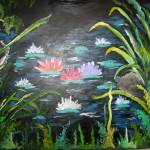 """Modern Waterlilies"" by alexash"