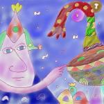 """""Good Heavens""-Children Colorful Fantasy Stories"" by Arran"