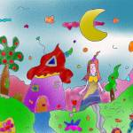 """""Princess forest""-Children Colorful Fantasy Storie"" by Arran"