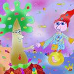 """""Sorcerer""-Children Colorful Fantasy Stories"" by Arran"