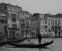 Gondolier at Work
