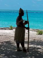 Native Warrior, Fanning Island