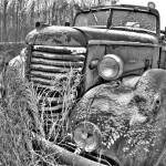 """Old Firetruck 2"" by mikemorrillphoto"