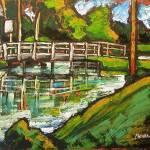 """Canal Bridge"" by gregchiaramonti"