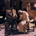 """President Reagan conferring with Pope John Paul II"" by worldwidearchive"