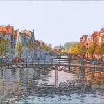 """Leiden Canal 2"" by jacquerose"