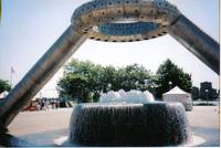 Hart Plaza Fountain
