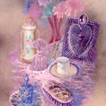 """Vanity Top with Teacup"" by cynthia"