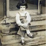 """Dorothy on the back steps"" by Delany"