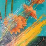 """Orange Burst"" by artforcancer"