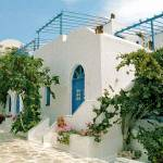 """Santorini Villa"" by DonnaCorless"