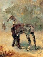Artilleryman and His Horse