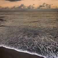 Black Sand of Punalu'u Beach Art Prints & Posters by Jeff Nyveen