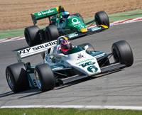 Williams FW08 and Tyrrell 012