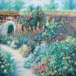 """Garden of Montecatini"" by cynthia"