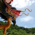 """Chinese Temple, Koh Phangan, Thailand"" by hyohakusha"