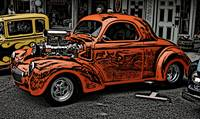 IMG_4447_orange hot rod woodcut crop
