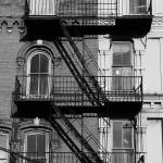 """Two-tone Fire escape"" by justfuchs"
