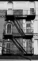 Two-tone Fire escape