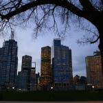 """Melbourne in her winter robes"" by greg_woodford"