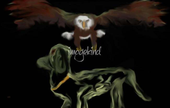 Stunning bald eagle paintings digital artwork for sale for Alex cherry eagles become wall mural
