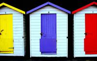 Beach Huts @ Shanklin