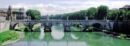 Tiber River Bridge