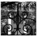 """Charleston Entry Gates, Story No. 1"" by PadgettGallery"