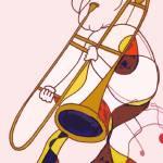 """The Trombonist"" by Polylerus"
