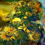 """Sunflowers"" by ArteSigno"