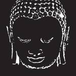 """Buddha in Black and White"" by diguiseppi"