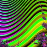 """swampflowers"" by fractalartvicky"