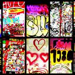 """Barcelona Graffiti Wall"" by Funkpix"