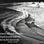 """Tranquil Tide Water with PSALM 19-36 Bible Verse"" by PhotographsByCarolFAustin"